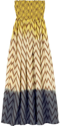 Tara Matthews Dégradé silk maxi dress - Tara Matthews