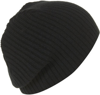 Black Small Beanie Hat - Winter Hats