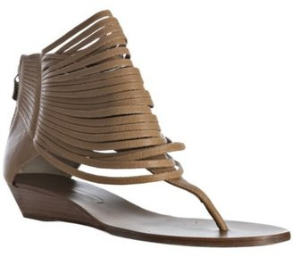 BCBGMAXAZRIA doe leather 'Irmah' strappy thong flat sandals - Sandals
