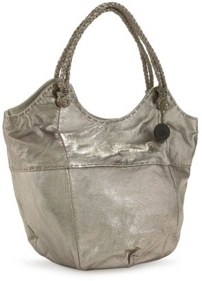 The sak &quot;indio leather&quot; metallic large tote - Metallic Purses