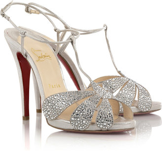 Christian Louboutin Margi Diams 120 sandals - Selita Ebanks&#39; Designer Faves