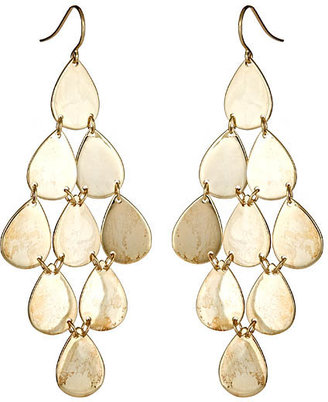 Melanie Auld Designs Infinite Tears Earrings - Gold Chandelier Earrings