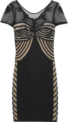 Temperley London Tattoo lace mini dress - Temperley London