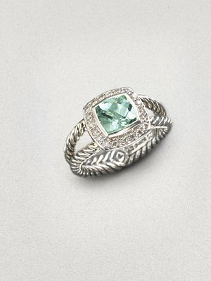 The Look for Less David Yurman Petite Albion Ring The Budget Babe
