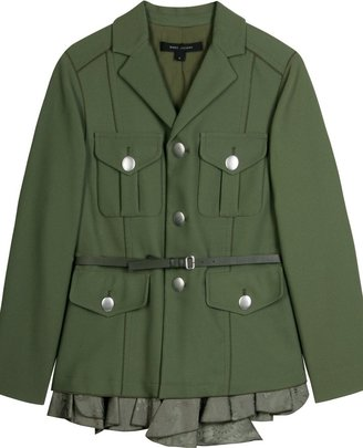 Marc Jacobs Military Jacket With Frill Detail - Clothes