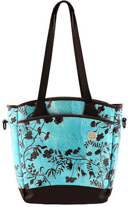 JJ Cole Collections Fleurville Sling Tote - Botanical Azure - Diaper Bags