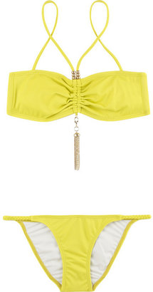 Shay Todd Tassel bandeau bikini - Swimwear