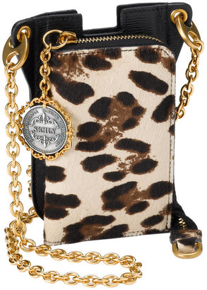 Dolce&Gabbana 'Miss iPhone Zip' Case & Card Wallet - Dazzling Dolce and Gabbana Handbags