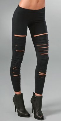 810e39259be56eb13c5c86ef770b45a1 Obsessed with: shredded leggings