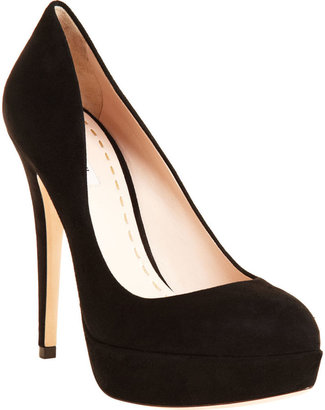 Miu Miu Platform Pump - Black - Hidden Platform Pumps