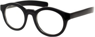 ASOS Chunky Round Clear Lens Glasses - Men's Round Lenses