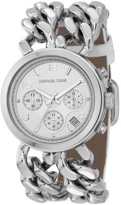 Michael kors silver-dial chronograph watch - Must Have Michael Kors Watches