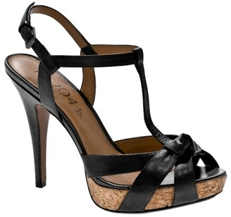 No. 704b Liv T-strap Platform Sandal - Heels