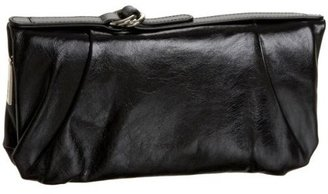 HOBO INTERNATIONAL Della Vintage Leather Zip-Around Wallet - Leather Clutch