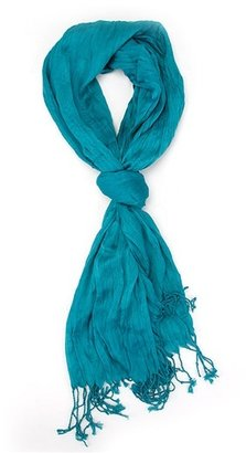 Ccc Silk-blend Crinkle Scarf - CCC