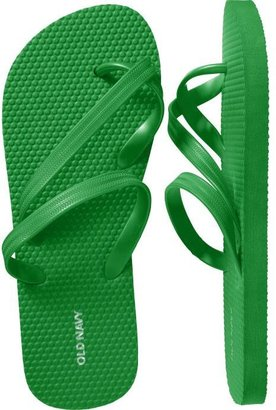 Women&#39;s Toe-Strap Flip-Flops - Old Navy