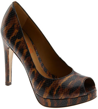 KORS Michael Kors &#39;Flora&#39; Peep Toe Pump - KORS
