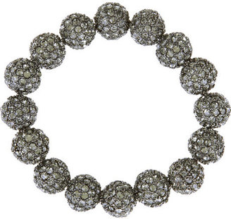 Kenneth Jay Lane Crystal-embellished bauble bracelet - Bracelets