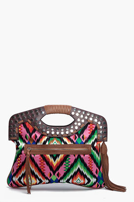Twelfth st. by cynthia vincent OUTLAW PRINT CLUTCH - Printed Leather Handbags