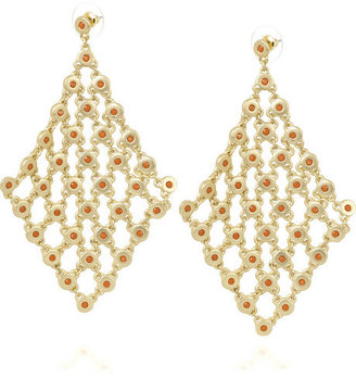 Kenneth Jay Lane Diamond-shaped earrings - Dangle Earrings