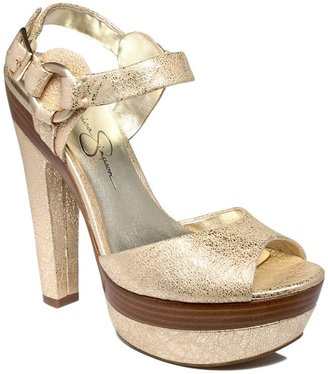 Jessica Simpson Shoes, Nutella Sandals - Platform Sandals