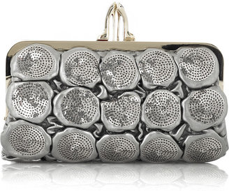 Christian Louboutin Carillon quilted leather clutch - Leather Clutch