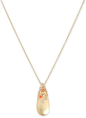 Alexis Bittar 'Small Montauk' Pendant Necklace - Gold Pendant Necklaces