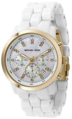 Michael kors oversized mother-of-pearl-dial watch - Oversized Watches for Women
