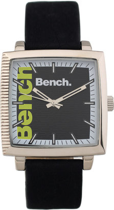 Bench Square Dial Strap Watch - Black Dial Watches for Men