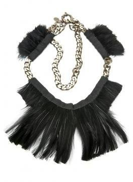Lanvin Feather Choker - Jewelry