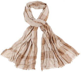 Burberry, London Trench/Canvas Check Scarf - Burberry