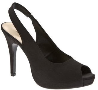 Kelly &amp; Katie Night Out Satin Slingback - Slingbacks