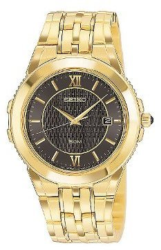 Seiko Men&#39;s Le Grand Collection watch #SKK640 - Incredibly Gold Watches for Men
