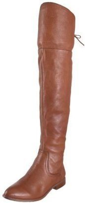 Pelle Moda Women&#39;s Venn Flat Heeled Tall Shaft Boot - Chic Over the Knee Boots