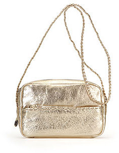 Freesia Crossbody - Metallic Shoulder Bag