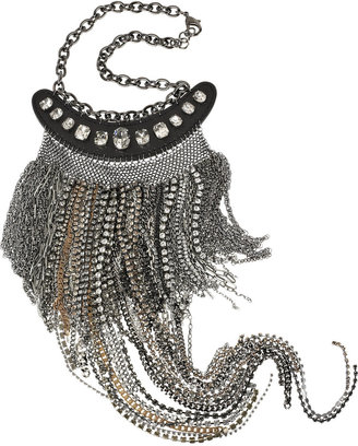 Donna Karan Multi-chain bib necklace - Great Chains