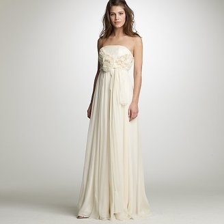 Chiffon Augusta gown - J.Crew
