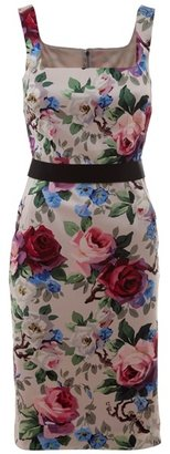 DOLCE &amp; GABBANA - Floral fitted dress - Dresses &amp; Skirts