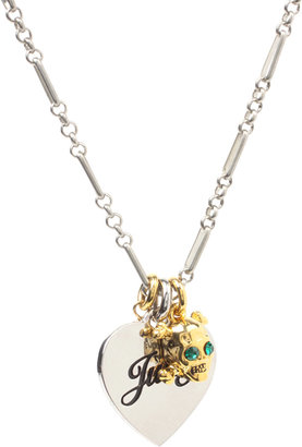 Juicy Couture Multi Charm Necklace - Stellar Skull Jewels 