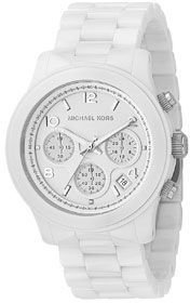 Michael Kors Ceramic Bracelet Watch in White - Must Have Michael Kors Watches