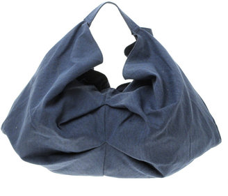 Mango Large Denim Slouch Shoulder Bag - Spring&#39;s Trendy Purses