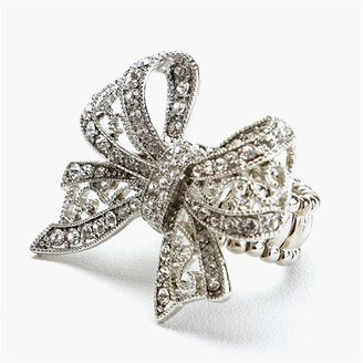Ccc Rhinestone Bow Ring - CCC
