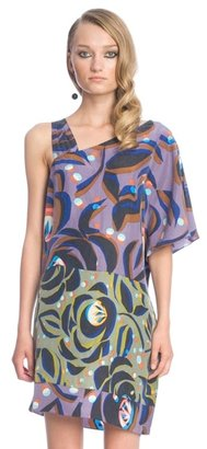 Tracy Reese Matisse Rose Asymetric Chemise - Tracy Reese