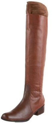 Matiko Women&#39;s Moore Over The Knee Flat Boot - Sweater Dress and Thigh-High Boots