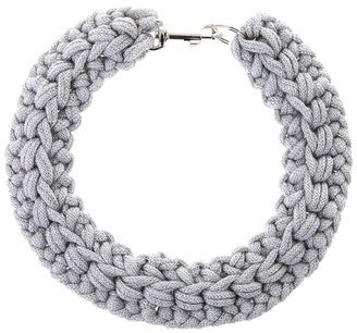 KAPOW! WOW! - Crochet rope collar - Rope Embellishments