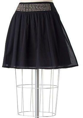 Lc lauren conrad embellished skirt - Dress Like Lauren Conrad