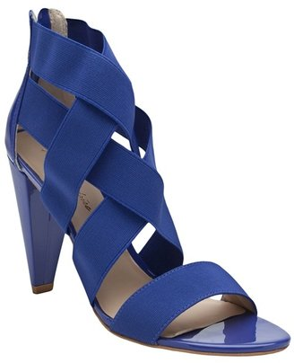 POUR LA VICTOIRE - Caitlin elastic strappy heel - Strappy Sandals