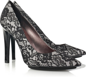 Stella McCartney Lace-covered pumps - Stella McCartney