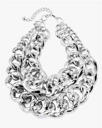 Chunky Chain Necklace - White House