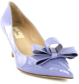 Valentino Graphic Bow Pump - Heels